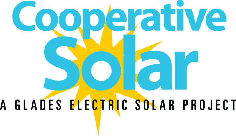 Logo: Cooperative Solar - A Glades Electric Solar Project