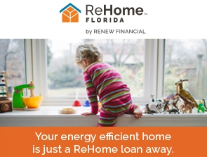 Your energy efficient home is just a ReHome loan away.